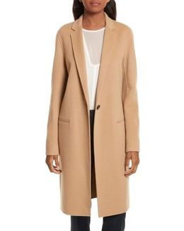 New Divide Wool & Cashmere Coat