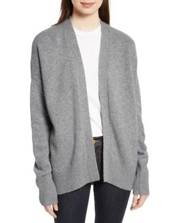 Oversize Cashmere Cardigan