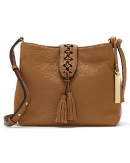 Ancel Leather Crossbody Bag