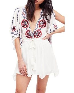 Cora Embroidered Minidress