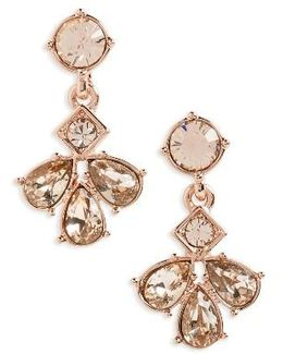 Savannah Cluster Drop Earrings