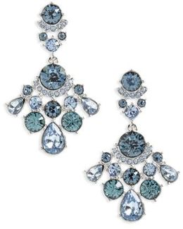 Verona Crystal Drop Earrings