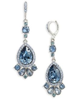 Verona Large Pear Drop Earrings