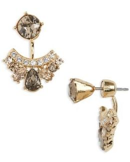 Verona Drop Back Earrings