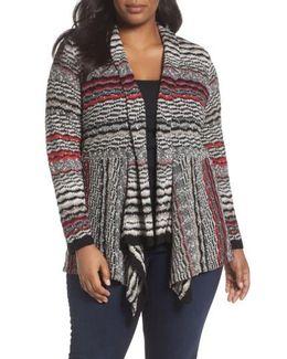 Shaded Stripes Cardigan