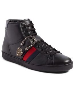 New Ace Dionysus Buckle High Top Sneaker