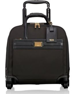 Larkin - Shannon 11-inch Compact Nylon Wheeled Carry-on