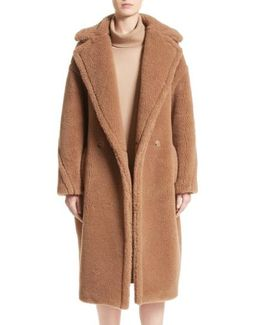 Aurelia Camel Hair & Silk Coat