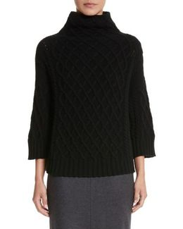 Cantone Wool & Cashmere Funnel Neck Sweater