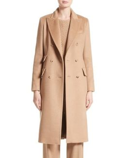 Derris Camel Hair Coat