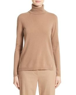 Nigeria Wool & Cashmere Turtleneck Sweater