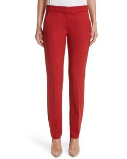 Oscuro Stretch Wool Pants