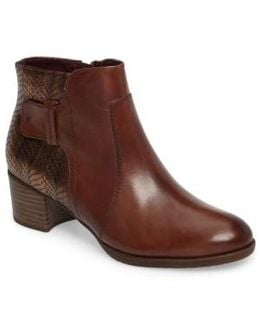 Akaria Mixed Finish Bootie