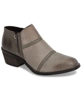 Farren Low Textured Bootie