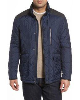 Herringbone Yoke Quilted Jacket