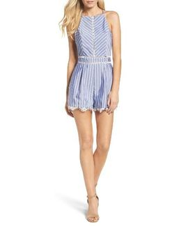 Beverly Stripe Romper