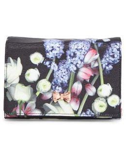 Jenniee Kensington Floral Bow Clutch