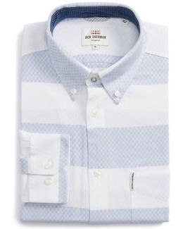 Dobby Gingham Stripes Shirt