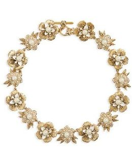 Pure Petals Collar Necklace