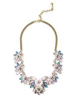 Camellia Bib Necklace