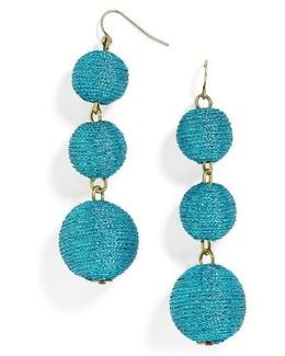 Shimmer Crispin Drop Earrings