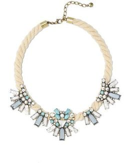 Corde Bib Necklace