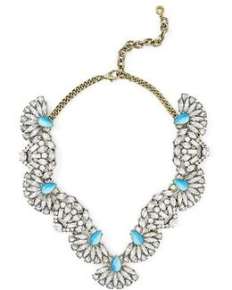 Iris Bib Necklace