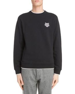 Wool Patch Pullover