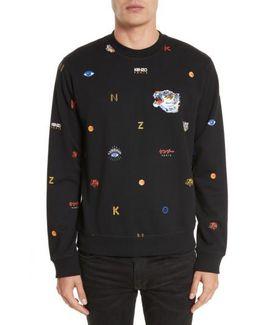 Allover Classic Tiger Sweater