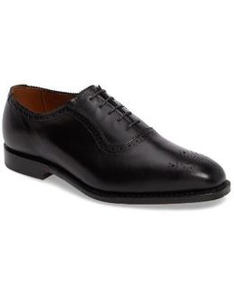Cornwallis Medallion Toe Oxford