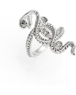 Twisted Serpant Ring