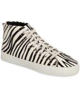 Zaina Too Genuine Calf Hair Sneaker