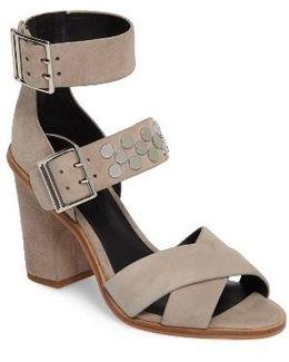 Jennifer Studded Ankle Cuff Sandal