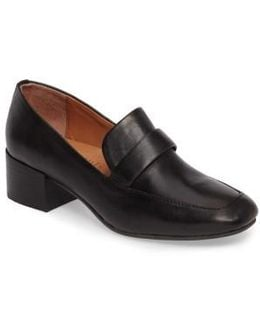Elliott Block Heel Loafer