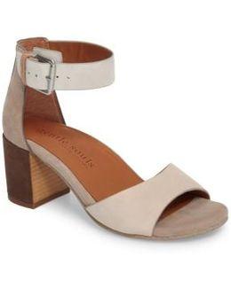 Christa Block Heel Sandal