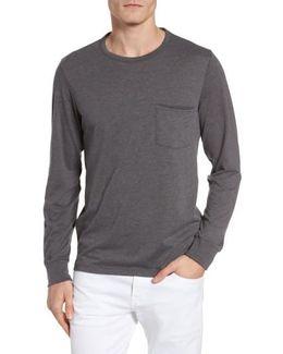 Yale Long Sleeve Pocket T-shirt