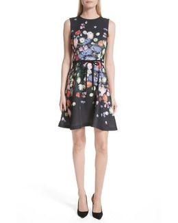 Izobela Kensington Floral A-line Dress