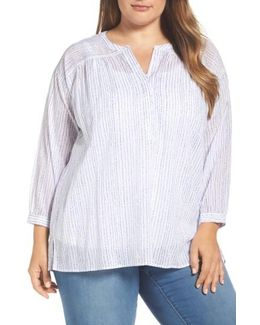 Drizzle Stripe Blouse
