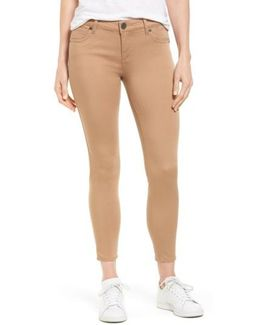 Connie Stretch Twill Ankle Skinny Pants