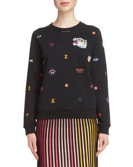 Multi Icons Sweatshirt