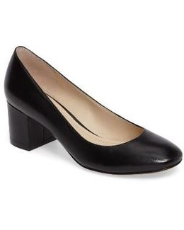 Wiley Block Heel Pump