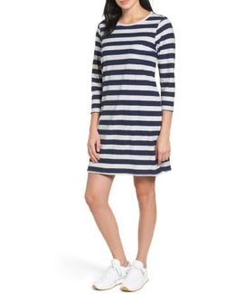 Lydia Stripe T-shirt Dress