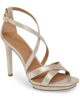Vonnie Cross Strap Sandal
