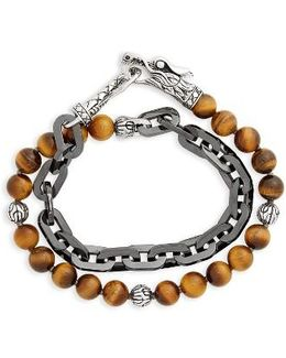 Legends Naga Double Wrap Link Bracelet