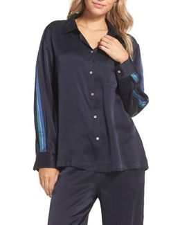 Silk Pajama Top