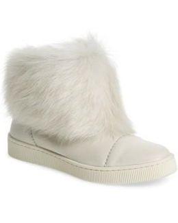 Priya Genuine Shearling Sneaker Boot