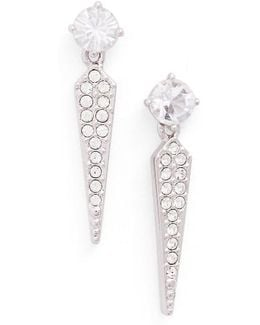 Gwen Crystal Drop Earrings