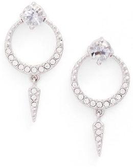 Gwen Crystal Drop Earrings
