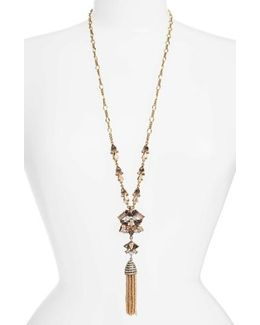 Cosma Tassel Pendant Necklace