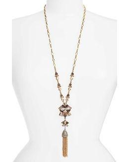 Cosma Tassel Pendant Necklace